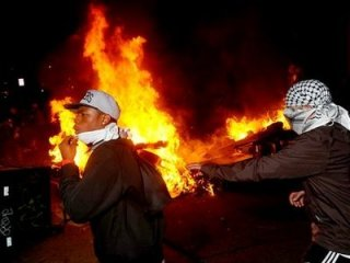Oakand OWS goes violent