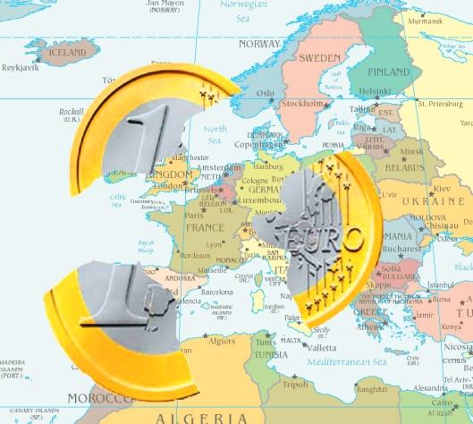 Euro on Europe