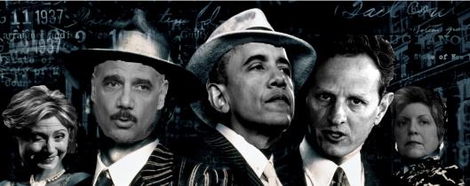 Obama and company