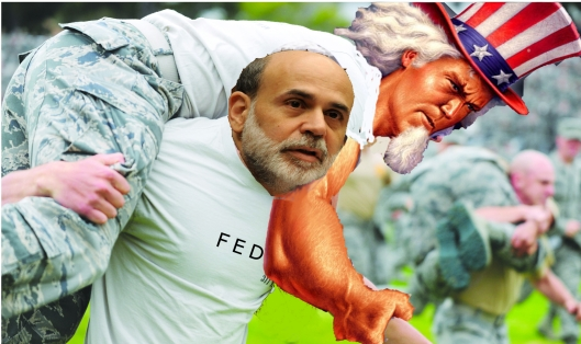 Bernanke carrying the economy