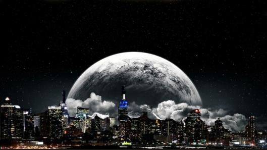 Dark Moon over NY